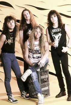 Metallica when they (we) were young