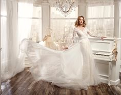 www.nicolespose.it #weddingdress #nicolespose #wedding #fashion #bride #bridal #brides #nicole #2016 #collection #white #love