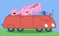 Peppa Pig v Thomas the Tank Engine Peppa Pig Car, Peppa Big, Peppa Pig Family, Familia Pig, Peppa Pig Stickers, Annoying Kids, Aniversario Peppa Pig, George Pig, Pig Party