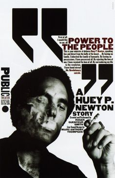 """A Huey P. Newton Story"" Poster"