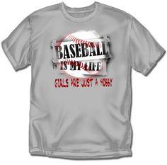 Baseball T-Shirt: Hobby Baseball - Youth