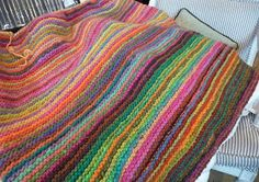 There's a little bit of Noromania running its course through the Close Knit staff these days, and this blanket is to blame.    It all starte...
