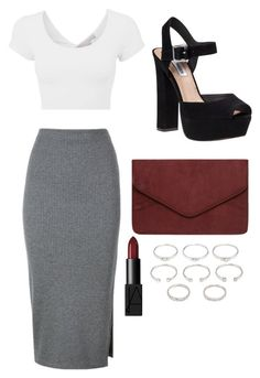 """""""Unbenannt #5"""" by pel25 on Polyvore featuring Mode, Whistles, Steve Madden, Dorothy Perkins, NARS Cosmetics und Forever 21"""