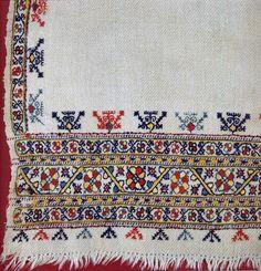 FolkCostume&Embroidery: Female Costume of Barkava and Bergzale, South Latgalia, Latvia