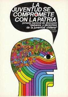 """""""The youth is committed to the motherland"""" - Chile, 1971"""
