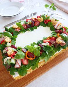 Sandwich Cake, Sandwiches, Swedish Recipes, Avocado Toast, Paleo, Brunch, Eat, Cooking, Breakfast
