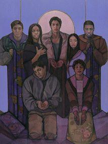 Jesus of Arrupe College© by Janet McKenzie