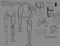 Simple Leg Notes P1 by ~FUNKYMONKEY1945 on deviantART join us http://pinterest.com/koztar