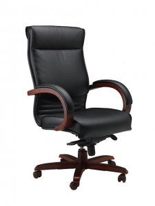 Mayline Mercado Wood Series Corsica Chair  SKU: CS Soft and supple leather defines these comfortable and luxurious yet economical choices of seating for the office and conference room.  • Genuine leather on all seated surfaces. • 250 lb. load rating for all Mercado Leather and Wood Chairs. • All Mercado Chairs available on the 72-hour Kwik-Ship program. • Some assembly required.
