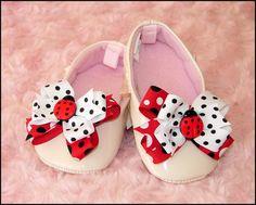 Ladybug Shoe Clips, Baby Girl Shoe Clips, Baby Shoes Clips, Toddler Shoe Clips, Girls Shoe Clips, Women Shoes, Photo Prop via Etsy
