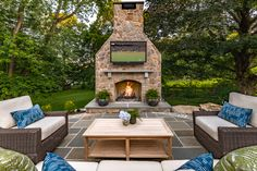 Discover DiSabatino Landscaping, providing superior landscape architecture and design services in Wilmington, Delaware. Call today for custom architectural landscape design. Landscape Architecture, Landscape Design, Wood Burning Fire Pit, Backyard, Patio, Delaware, Service Design, Natural Stones, Relax