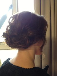 formal updo. did this on myself- very easy