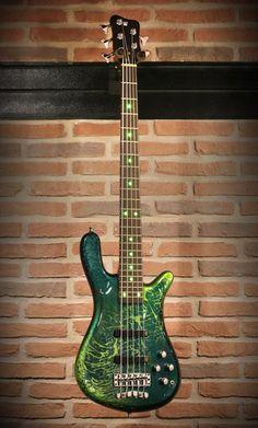 Warwick  Streamer LX Galaxy Green High Polish