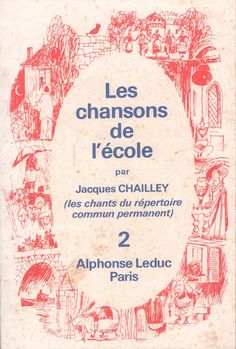 Chant, France, Books, 1975, Cards, Instruments, School Memories, Readers Workshop, Antique Books