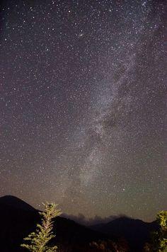 Milky Way seen from Mount Washington, New Hampshire. Mount Washington, Milky Way, New Hampshire, Night Skies, Vacation Spots, Northern Lights, Sunrise, Destinations, Moon