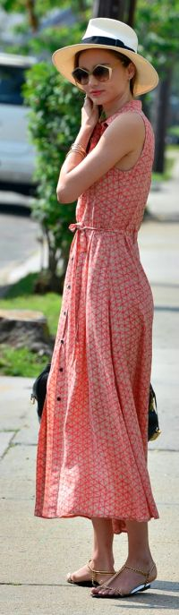 Miranda Kerr Geo Print Maxi Dress