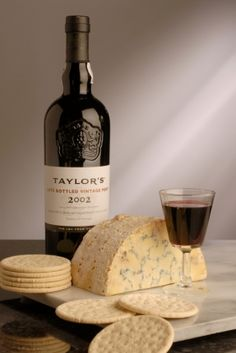 My favorite Port and Stilton cheese - brilliant pairing!