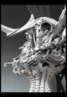 Mecha from genius mecha designer Mamoru Nagano