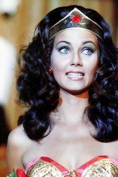 Linda Carter. Love Wonder Woman, and Love this face :)                                                                                                                                                      More