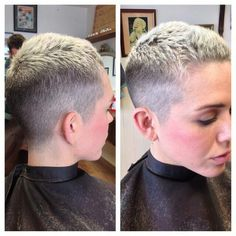 Gorgeous short hair and color