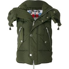 Dsquared2 hooded military style jacket (1,605 CAD) ❤ liked on Polyvore featuring outerwear, jackets, green, military style jacket, fashion military jacket, zipper jacket, snap jacket and dsquared2