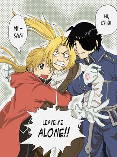 FMA Al,Ed and Roy by Letucse on deviantART