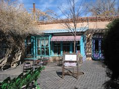 The Shed restaurant in Santa Fe, New Mexico. Our favorite place to eat when we visit...yummy New Mexico food...