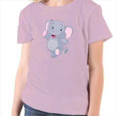 Camiseta infantil Cachorro elefante