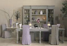 BOISERIE & C.: Neutri + Violetto: stile provenzale
