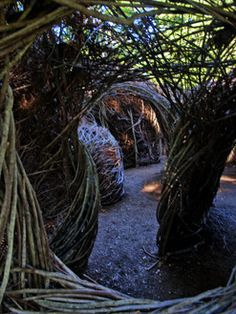 bernheim arboretum and research forest, clermont ky - patrick dougherty