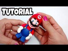 Bolo Do Mario, Bolo Super Mario, Super Mario Birthday, Mario Birthday Party, Mario Party, Super Mario Bros, Mario Bros Y Luigi, Mario Bros Cake, Cake Topper Tutorial