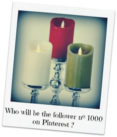 Who will be the follower nº 1000 on Pinterest?¿  Thank you for your Support and Feedback!