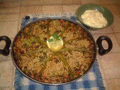 La Rustidera de Queca Morell: Paella de verduras al curry