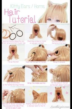 Cosplay Wig Styling