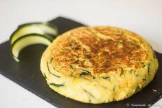 Tortilla de calabacín sin huevo