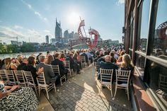 Most of the people think selecting a wedding venue is painless. Well they're entirely wrong as selecting the perfect wedding venue may be a challenging task. Nashville Events, Nashville Skyline, Nashville Wedding Venues, Best Wedding Venues, Wedding Ceremony, Event Services, Event Venues, Spring Wedding Inspiration, Corporate Events