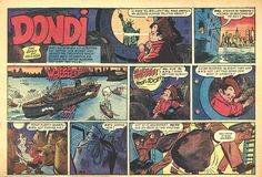 dondi | Sunday Funnies- Dondi by Irwin Hasen... what a timely curio this is ...