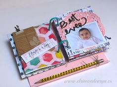Mad Scrap Project Paper Bag Album, Smash Book, Mini Albums, Notebooks, Toddler Bed, Mad, Scrap, Projects, Blog