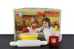 Mini Mix It Set Tupper Toys 1970s Retro Playset Tupperware