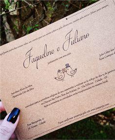 Arte Digital Convite de Casamento - Rústico Passarinhos Wedding Invitations, Sim, Rustic Wedding Theme, Tears Of Joy, Thank You Greeting Cards, Wedding Planning, Digital Art, The Originals, It Works