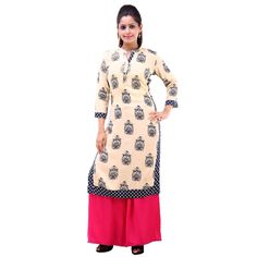 VASTRA VINOD WOMEN'S CASUAL WEAR DISTINCTIVE RAYON ETHNIC SET