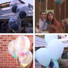4 Creative Balloon Decorating Ideas 4 creative decoration ideas for balloons Grad Parties, Birthday Parties, Birthday Games, Birthday Balloons, Diy Birthday, Deco Ballon, Ballon Diy, Fun Crafts, Diy And Crafts
