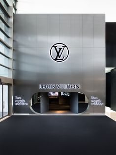 Louis Vuitton Time Capsule Exhibition in Melb /「路易威登」墨爾本展覽 – LAB Gallerie Front Door Design, Shop Front Design, Kindergarten Interior, Clothing Store Design, Retail Signage, Louis Vuitton Store, Exhibition Space, Facade Design, Merchandising Displays