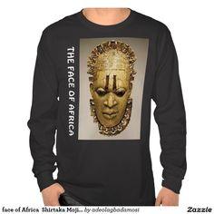 face of Africa  Shirtaka Moji A Okubule Tshirts