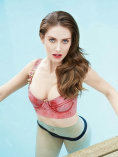 Alison Brie (actress, Mad Men, Community, BoJack Horseman) for GQ Mexico