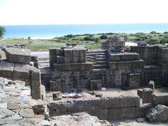 Scena. Teatro. Siglo I dc. Conjunto Arqueológico de Baelo Claudia. Bolonia. Cádiz