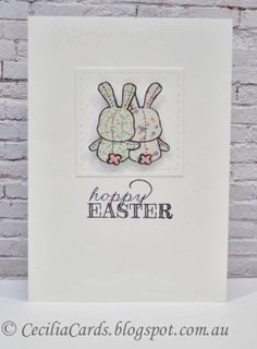 Cecilia's Cards - Easter card with @Mama Elephant