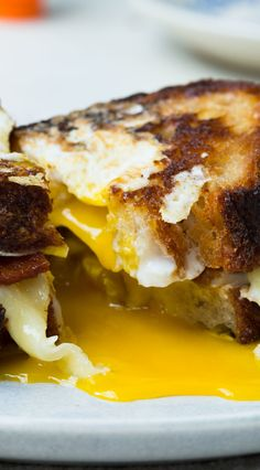 Egg In a Hole sandwich: There is no hangover in the world this can't cure.