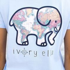 """87f4d928a38c25 Ivory Ella on Instagram  """"Help  SaveTheElephants this  EarthDay by treating  yourself to our new Perfect Fit Earth Day Tee! 🐘🌎💕✌🏼"""""""
