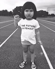 THE FUTURE IS FEMALE. Image credit unknown. #Photography